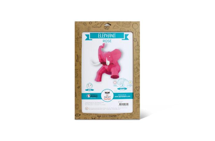 Elephant en papier 3D 13 3701310203729