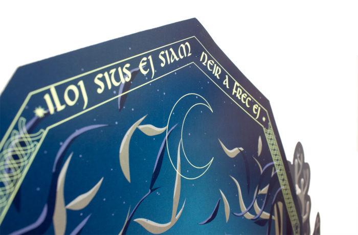 Cerf en papier indigo Collector 6 3701310203675