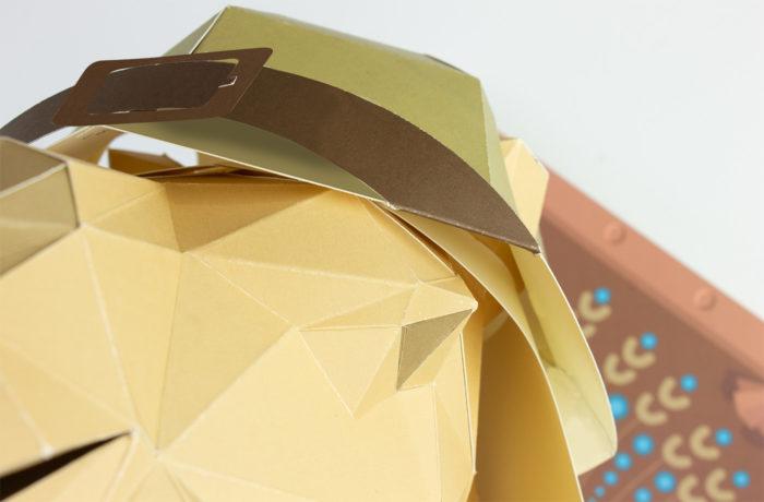 Dromadaire en papier 3D 6 3701310201916