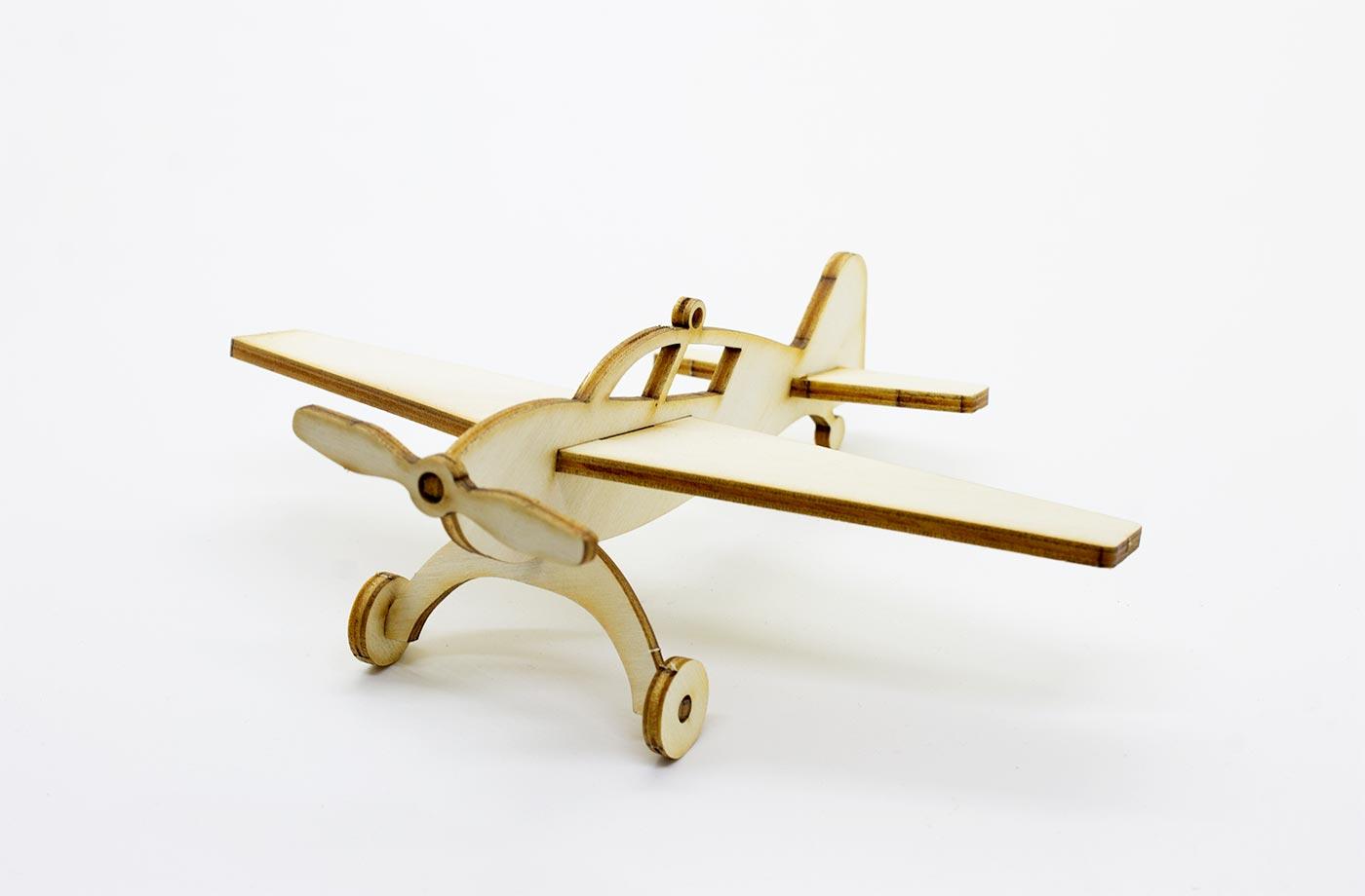 Les p'tits bidules en bois Avion 7 3701310202050