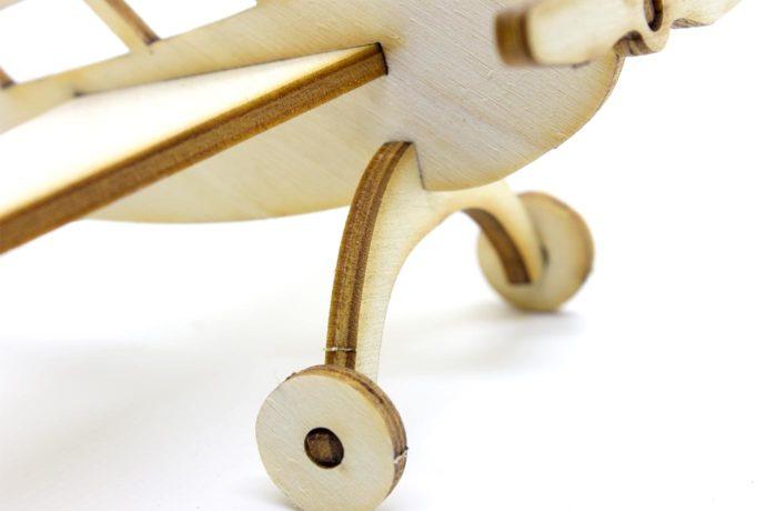 Les p'tits bidules en bois Avion 4 3701310202050