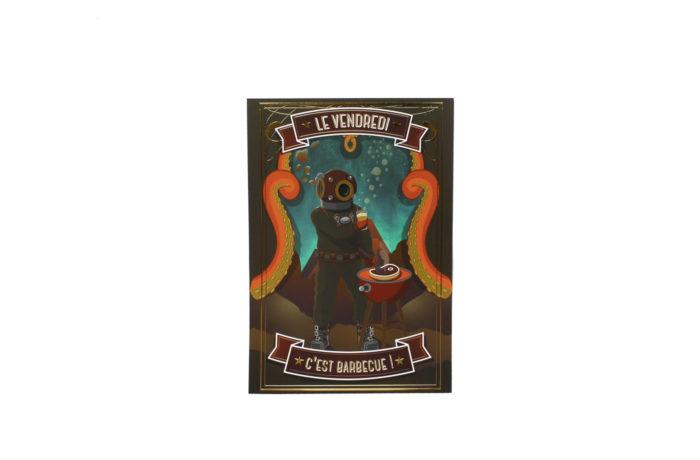 Affiche Vendredi Barbecue 1 3701310202807