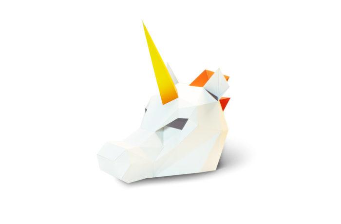 3D paper mask 16