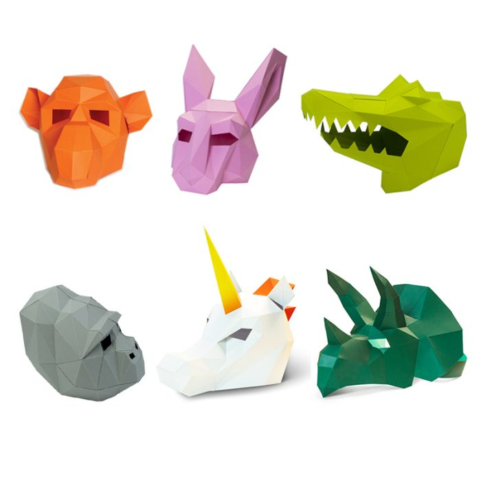 3D paper mask 5
