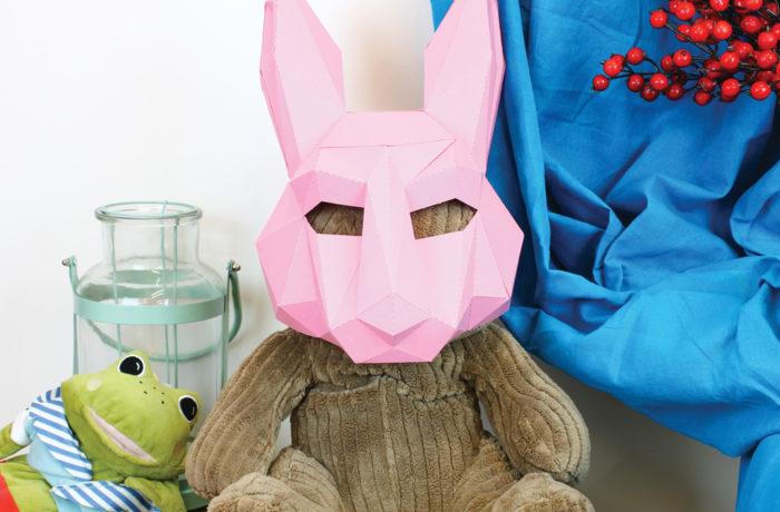 3D paper mask 13