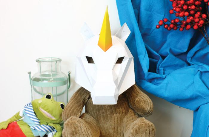 3D paper mask 6