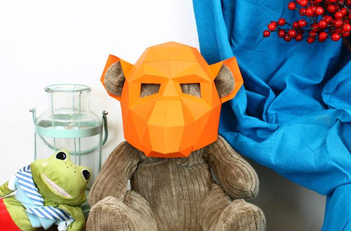 3D paper mask 14