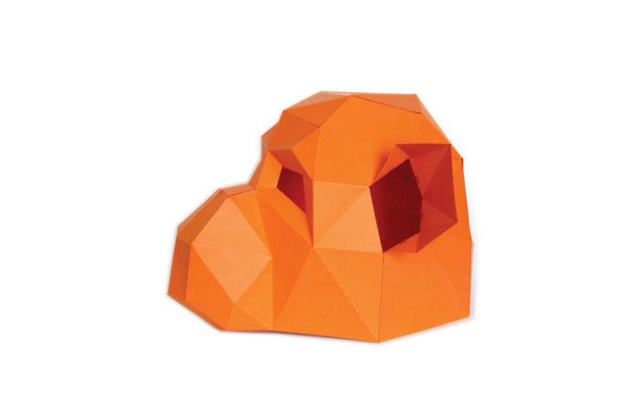 3D paper mask 7