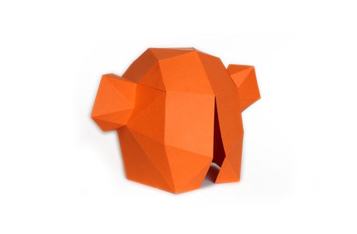 3D paper mask 8