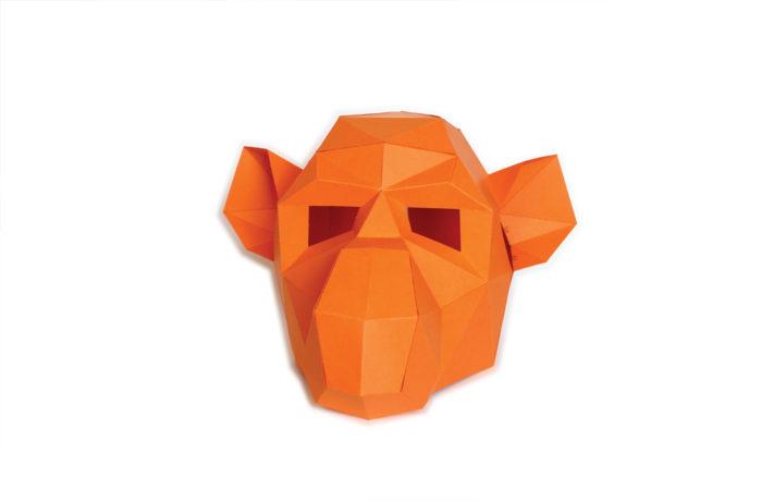 3D paper mask 2