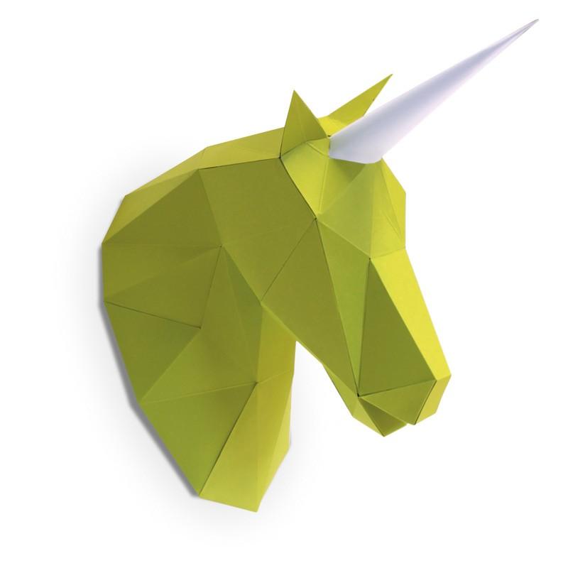 Petite licorne en papier 3d 5 2000000006451