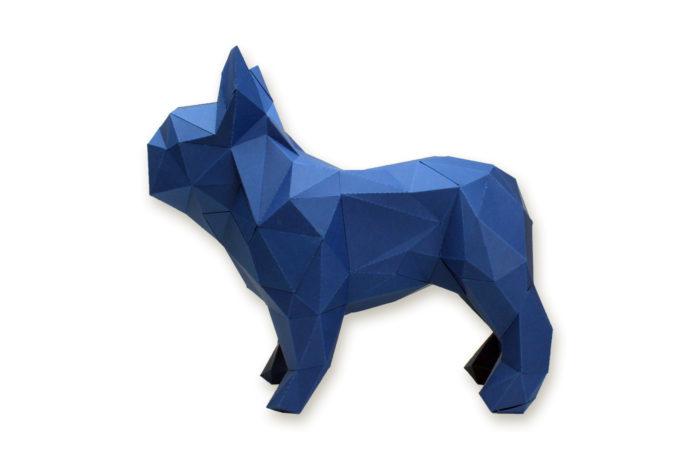 Bouledogue en papier 3D 8 3760271836599