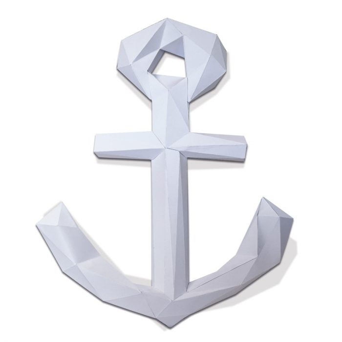3D paper anchor 3