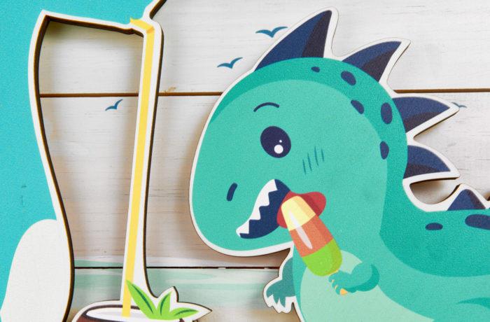 Palette décrochée Dino 2