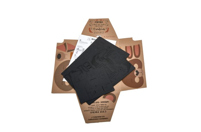 Elephant en carton 4