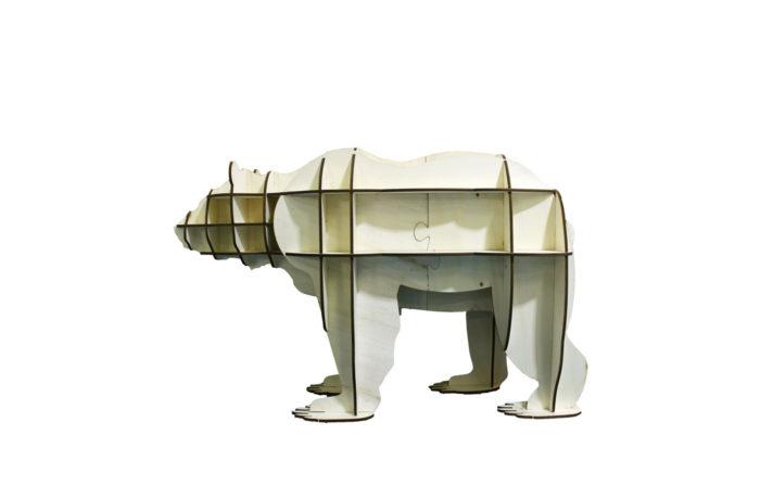 Meuble étagère Ours 1