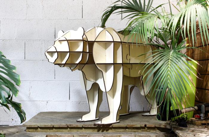 Meuble étagère Ours 2