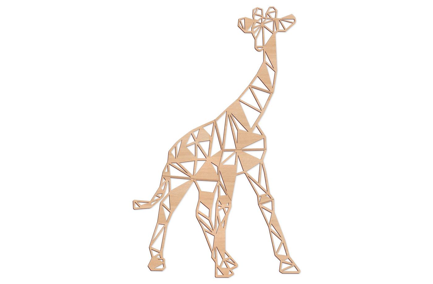 Trophée Géométrique Girafe XL 2