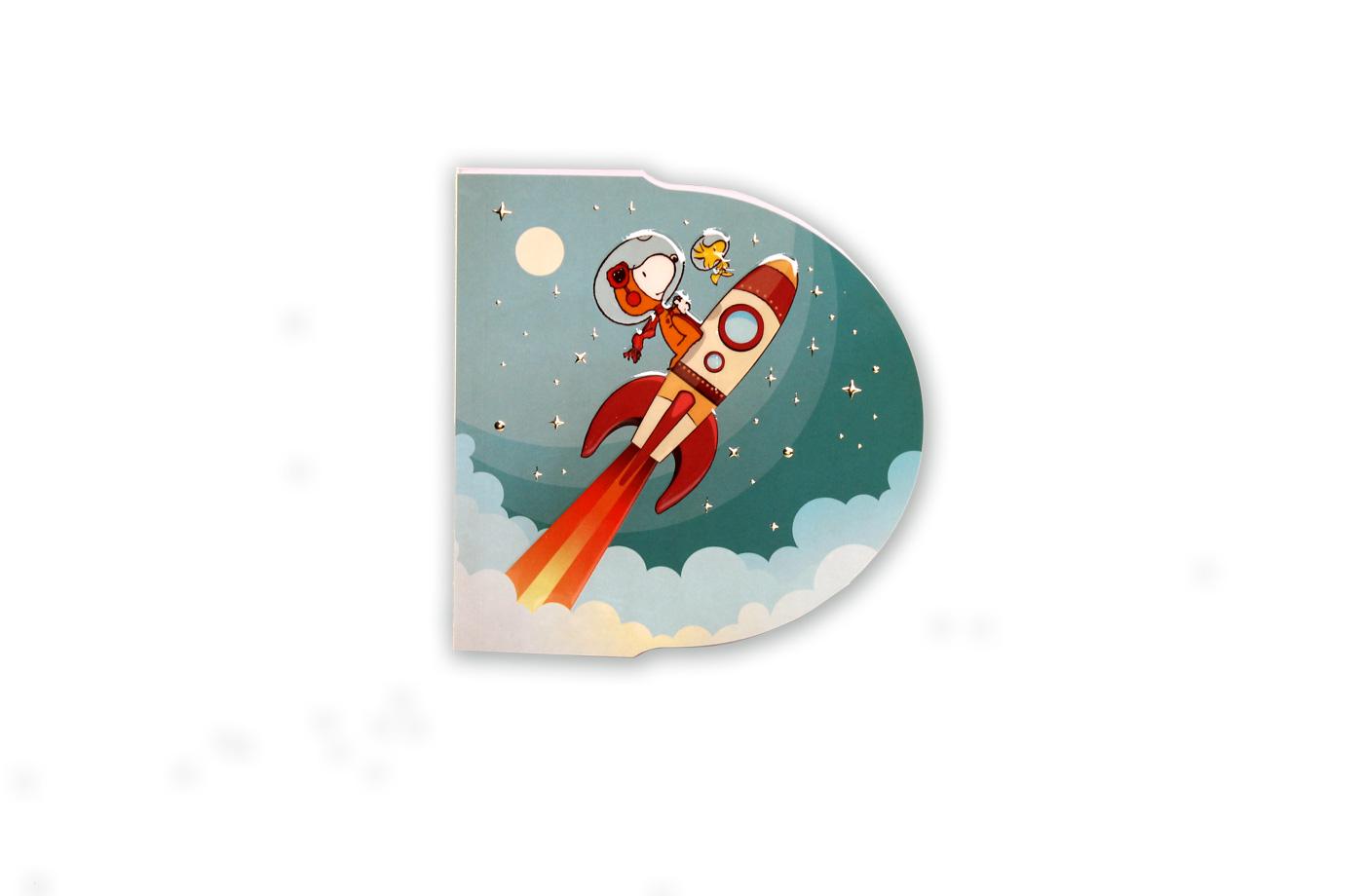 Bloc D Snoopy Fusée 4
