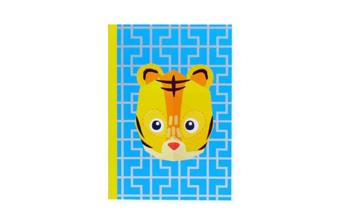 Carnet mini trophée tigre