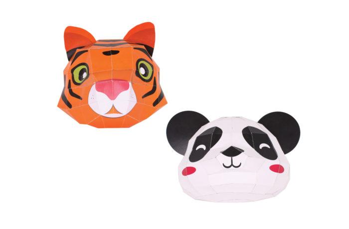 Trophée Easy Peasy Panda & Tigre 1