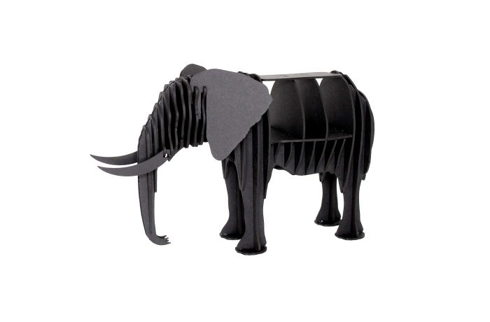 Elephant en carton 1