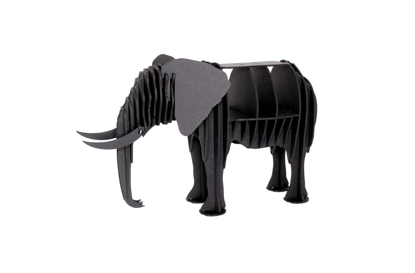 Elephant en carton 5