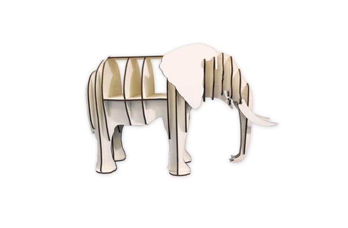 Meuble étagère Eléphant 1