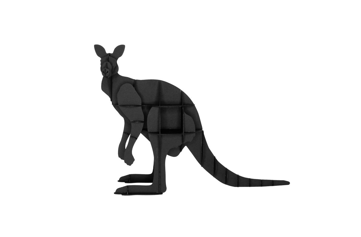 Kangourou en carton 3