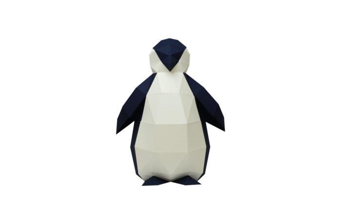 Pingouin en papier 3D 1