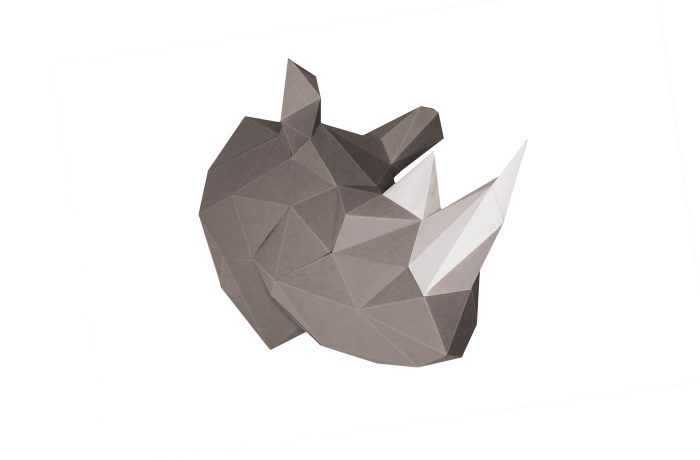 Rhino en papier 3d 8 2000000006376