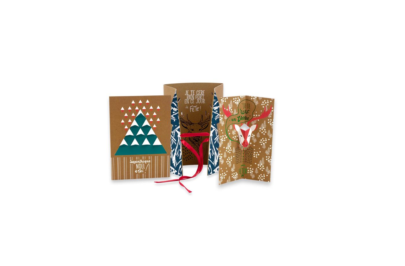 Pack cartes Noël 5 3760271838418