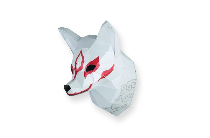Small Japanese fox 2