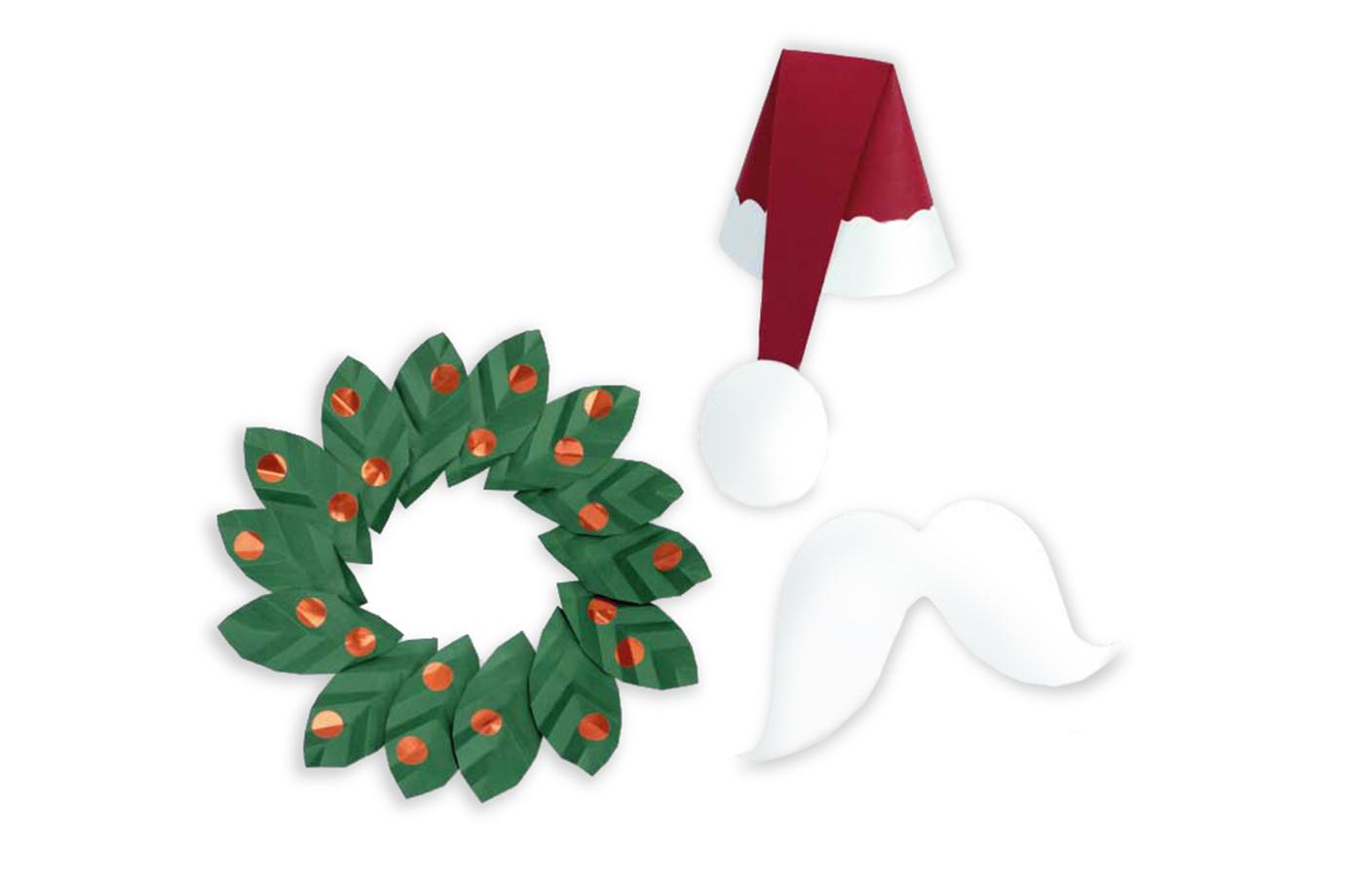 Accessoire trophée Noël