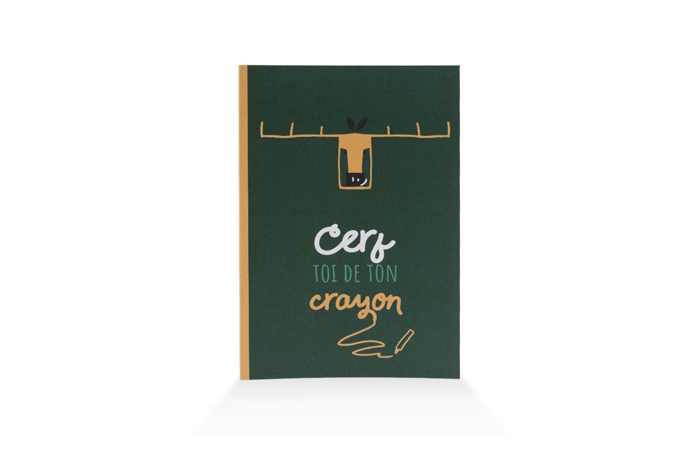 Carnet Insouciant Cerf