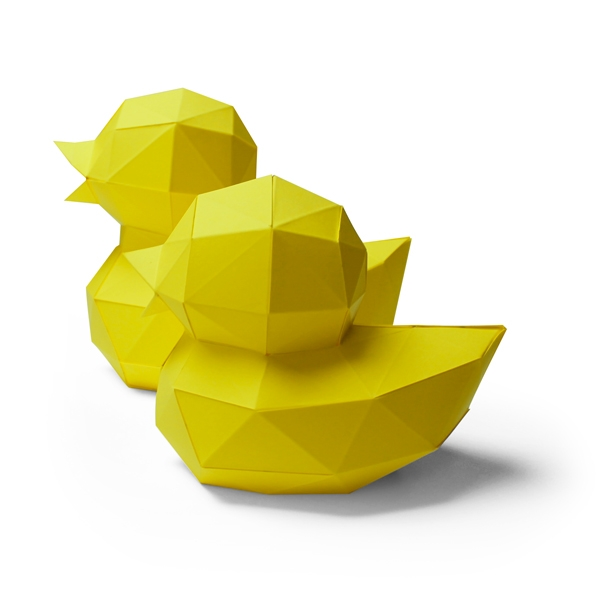 2 paper ducks 1