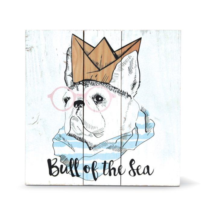 Tableau bull of the sea