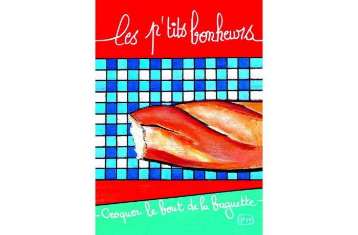 Baguette postcard 1