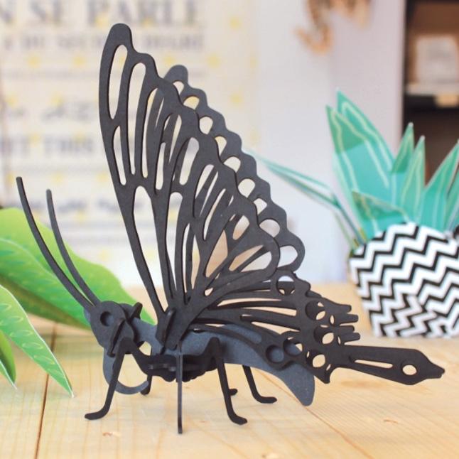 Cardboard butterfly 3
