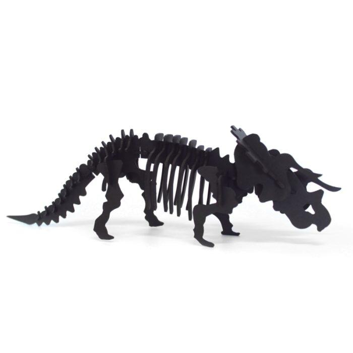 Cardboard triceratops 1
