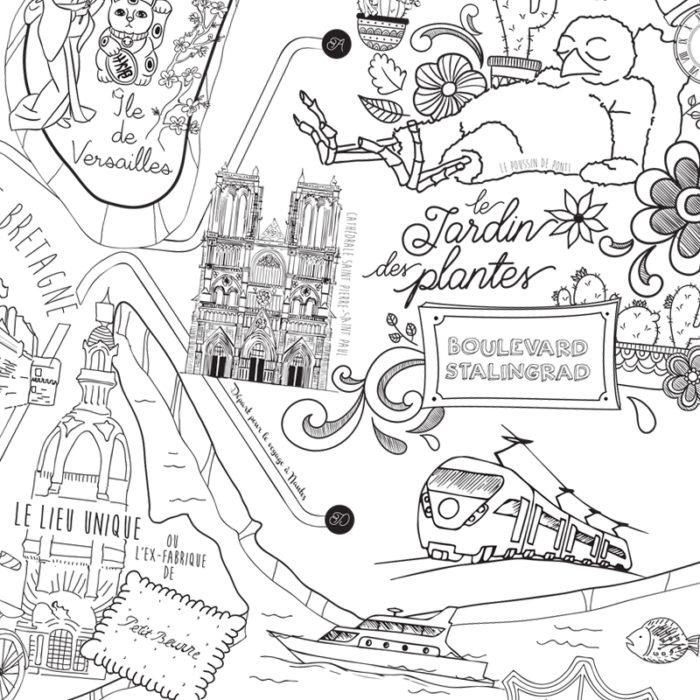 Poster Nantes à colorier 1200 x 800 5 3650049004711