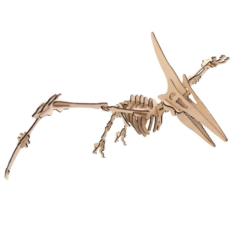Ptérodactyle en bois 3 3650049004933