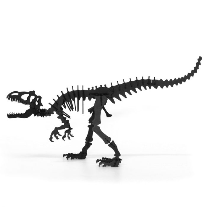 Cardboard tyrannosaurus 1