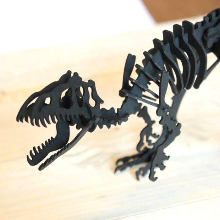Cardboard tyrannosaurus 5