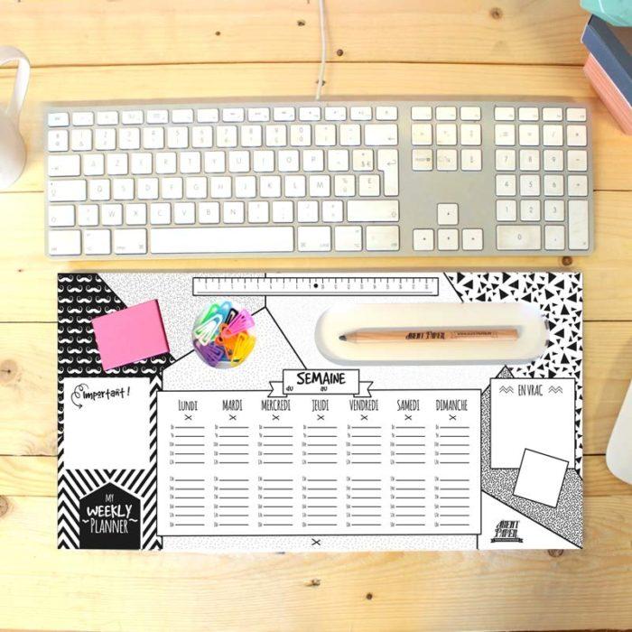Weekly planner desk pad 2