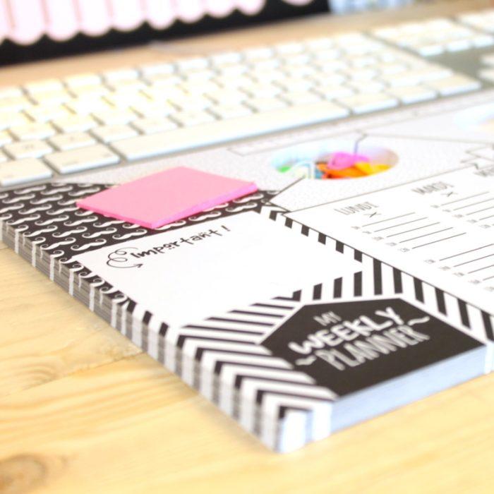 Weekly planner desk pad 3