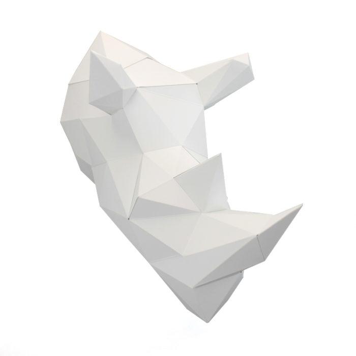 Rhino en papier 3d 10 2000000006376