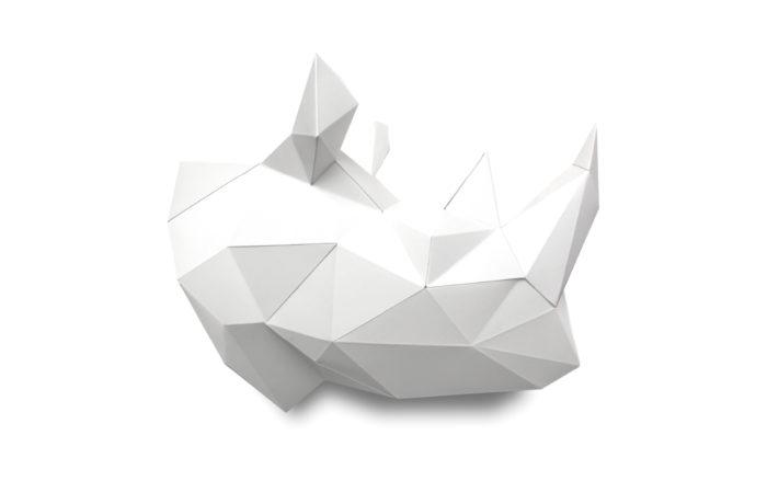 Rhino en papier 3d 3 2000000006376