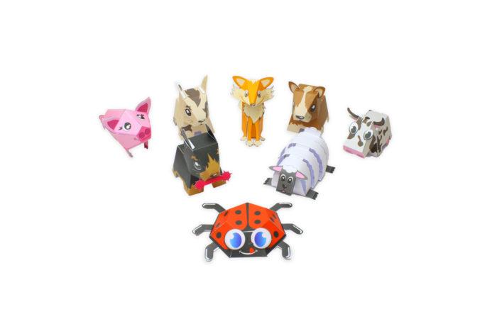 kit paper toy