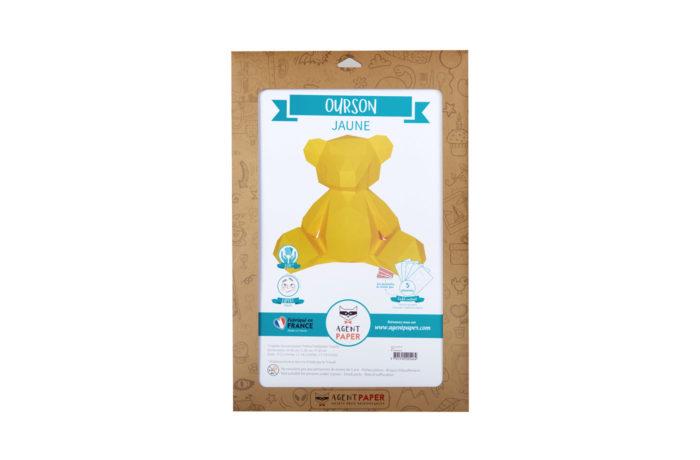 3D paper bear cub 3